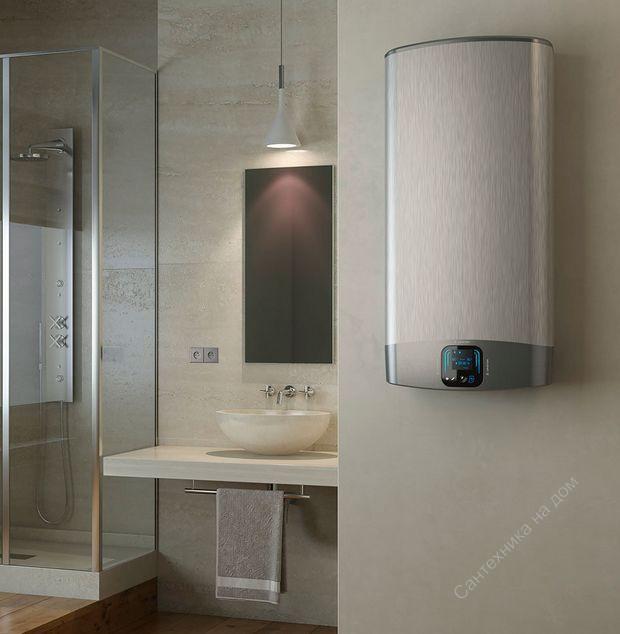 Картинки по запросу водонагреватели ariston в интерьере круглый